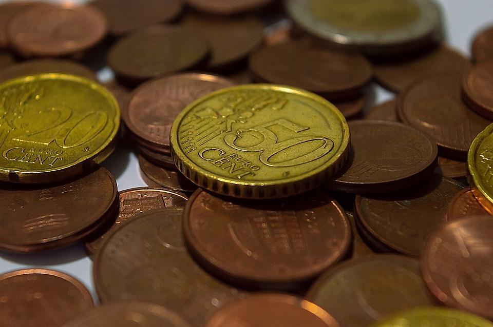 centové mince